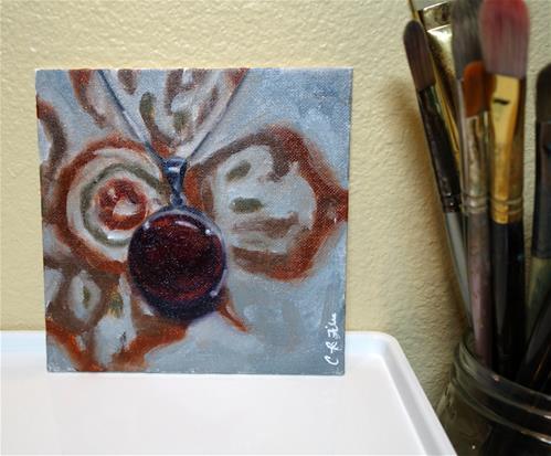 """Ruby"" original fine art by Chrystale Files"