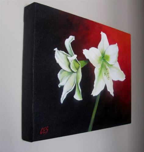 """Amaryllis"" original fine art by ~ces~ Christine E. S. Code"