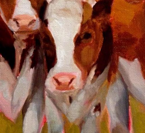 """Three's a Crowd"" original fine art by ~ces~ Christine E. S. Code"