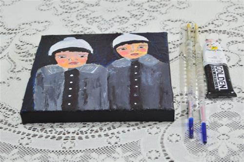 """""""Twins"""" original fine art by Katie Jeanne Wood"""