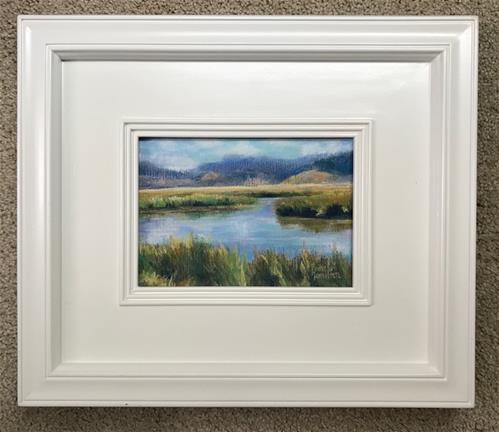 """Somewhere in the Tetons"" original fine art by Pamela Hamilton"