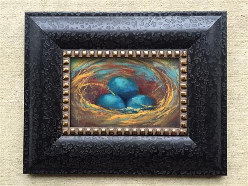 """Nesting"" original fine art by Pamela Hamilton"