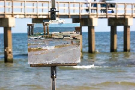 """Matagorda Cove"" original fine art by Randall Cogburn"