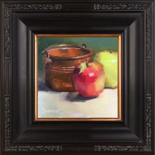 """Little Copper Pot"" original fine art by Candace Brancik"