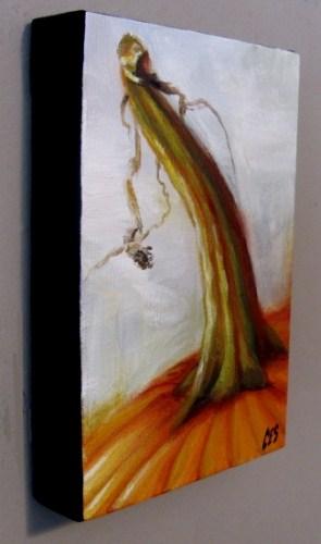 """""""Alla Prima Pumpkin"""" original fine art by ~ces~ Christine E. S. Code"""