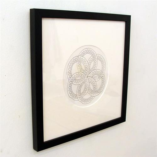 """Links Study VIII"" original fine art by Bonnie Fillenwarth"