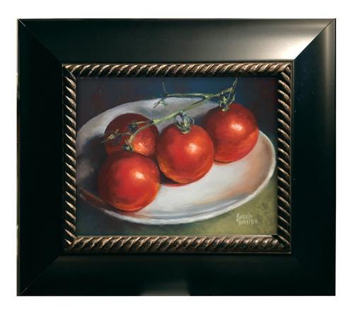 """Salsarific"" original fine art by Pamela Hamilton"
