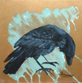 """Raven III"" original fine art by Patricia Murray"