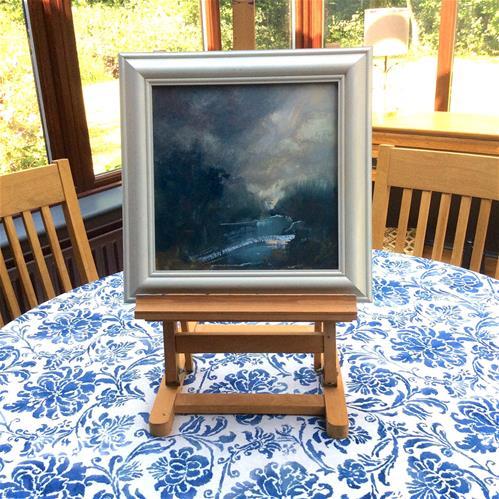 """""""Wild Night"""" original fine art by Anne Wood"""