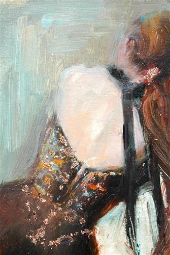"""Copper"" original fine art by Johanna Spinks"