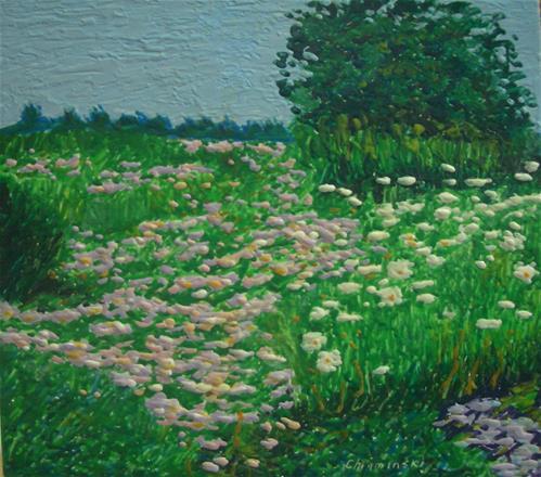 """Magnuson Park Flowers"" original fine art by Stan Chraminski"
