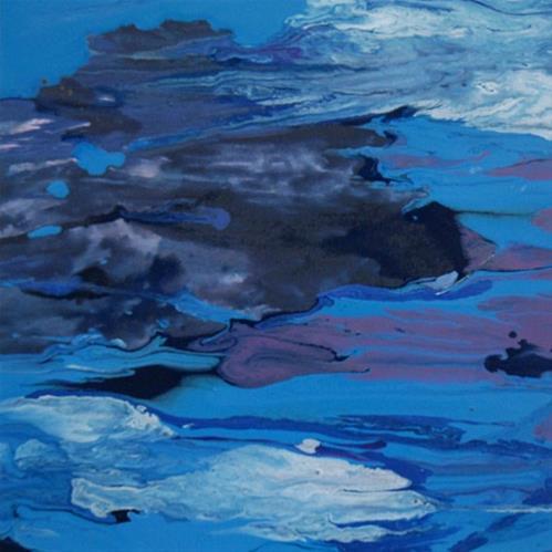 """8 - Original Ocean"" original fine art by Olga Touboltseva-Lefort"