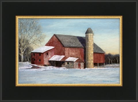 """Winter in Muskegon"" original fine art by Pamela Hamilton"