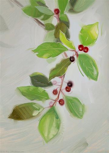 """Berries - Framed!"" original fine art by Rob  Rey"