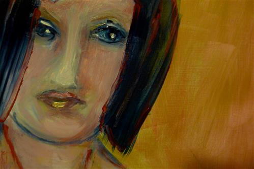 """Looking back"" original fine art by Ulrike Schmidt"