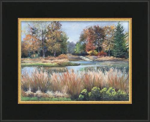 """""""Autumn's Palette"""" original fine art by Pamela Hamilton"""