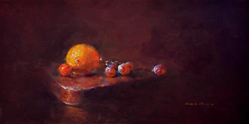 """Morning Glow"" original fine art by Sabrina Zhou"