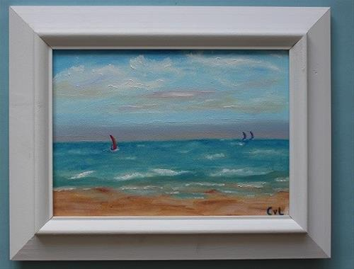 """Afternoon sailing"" original fine art by Conny van Leeuwen"