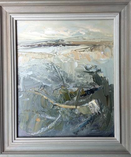 """""""Shades of Grey"""" original fine art by Anne Wood"""