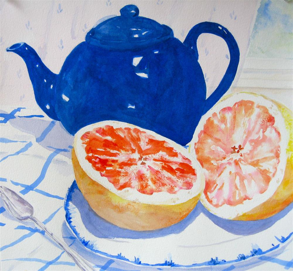 """Good Morning!"" original fine art by Judith Freeman Clark"