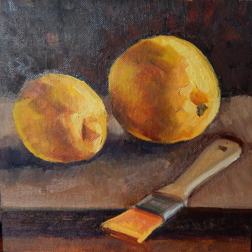 """Study in Yellow"" original fine art by Megan Schembre"