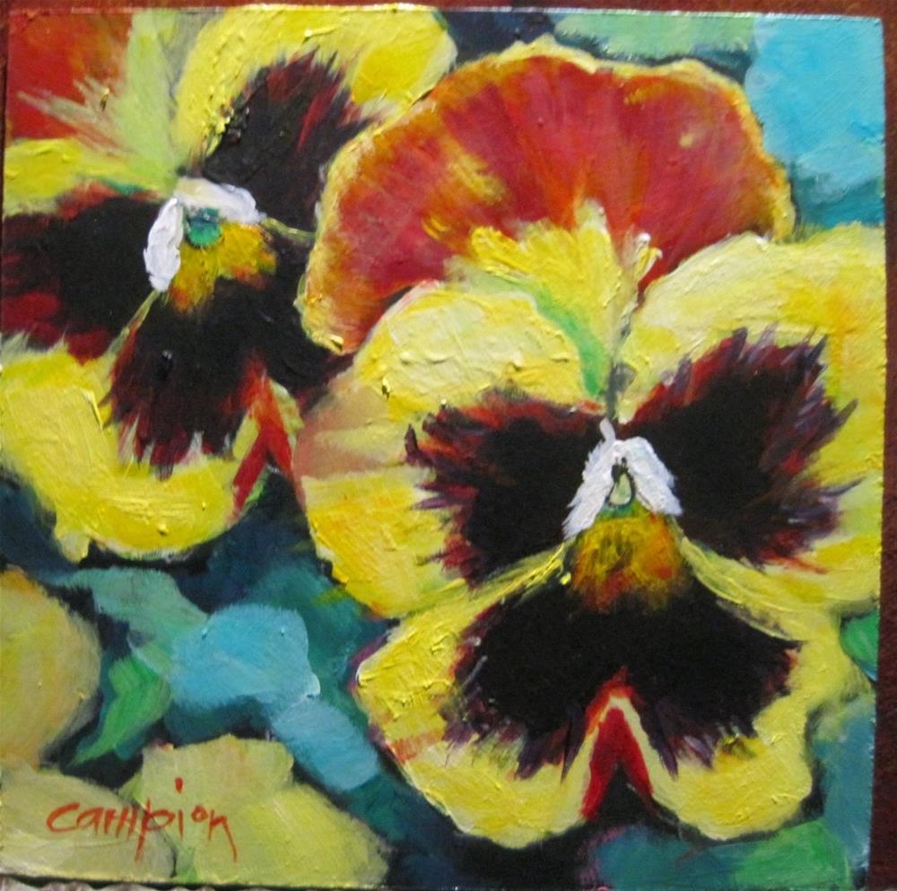 """""""356 Sunshine"""" original fine art by Diane Campion"""