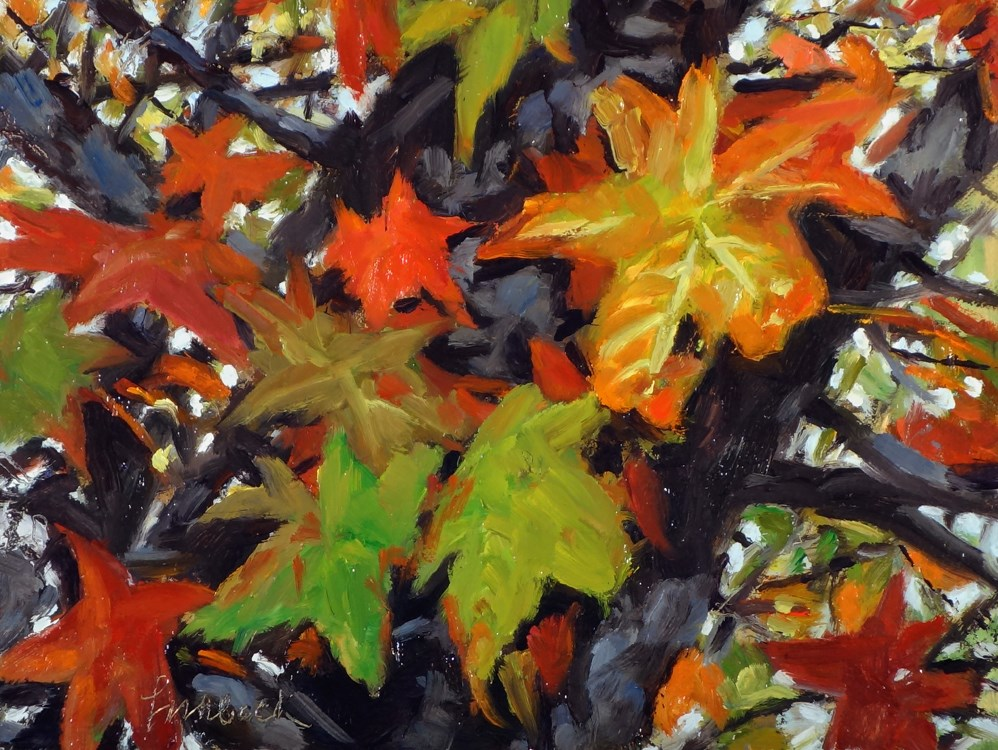 """Fall Colors"" original fine art by Daniel Fishback"