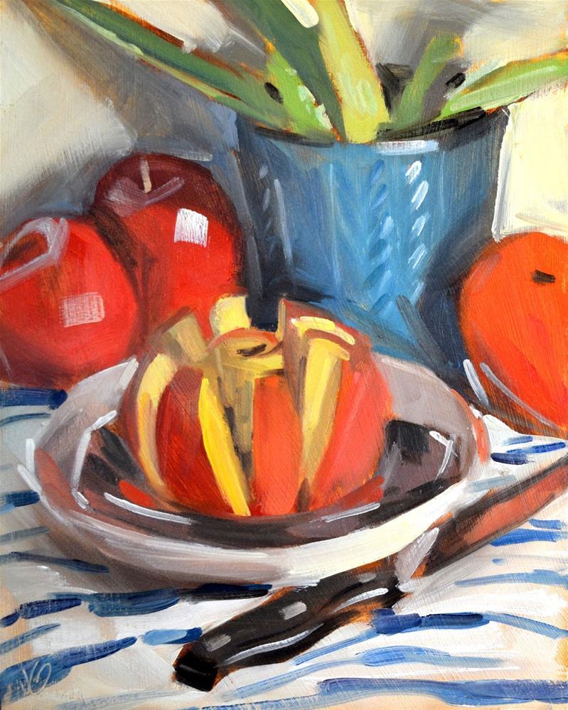 """Sliced"" original fine art by Jessica Green"