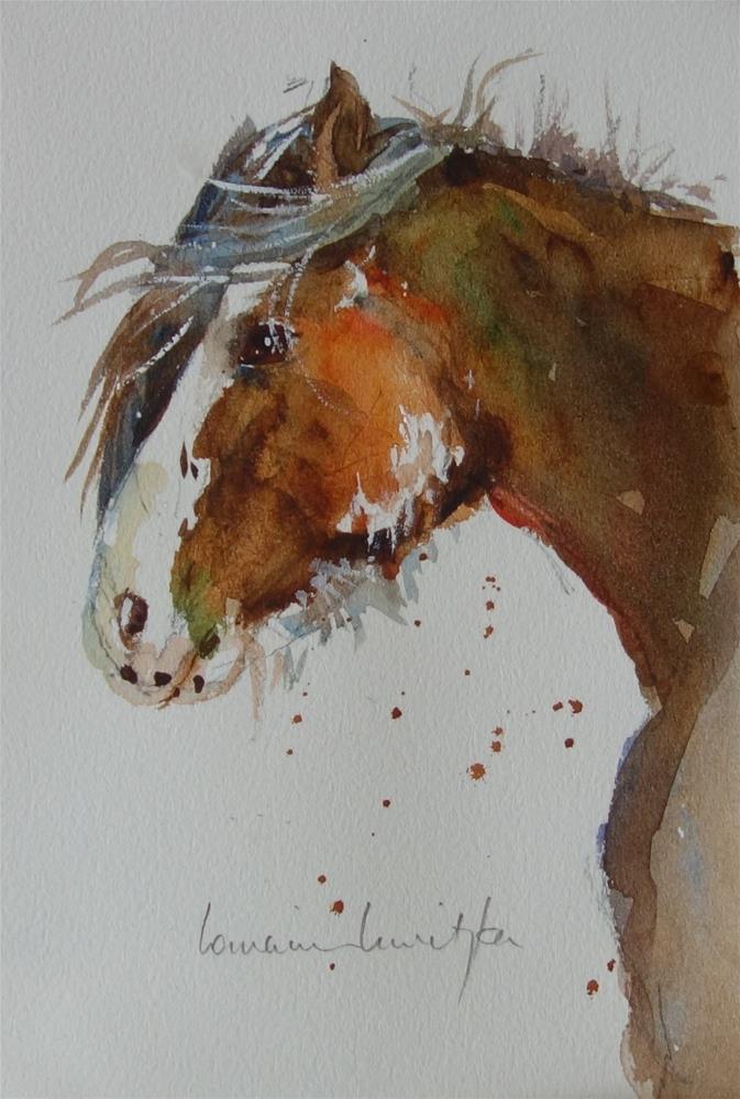 """Majestic"" original fine art by Lorraine Lewitzka"
