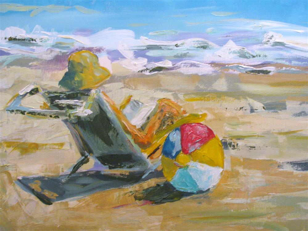 """Seaside"" original fine art by Susan Elizabeth Jones"
