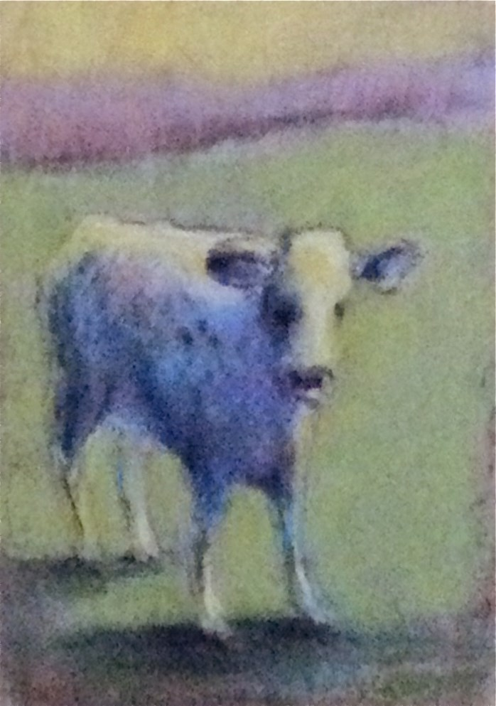 """Doris"" original fine art by Judy Albright"