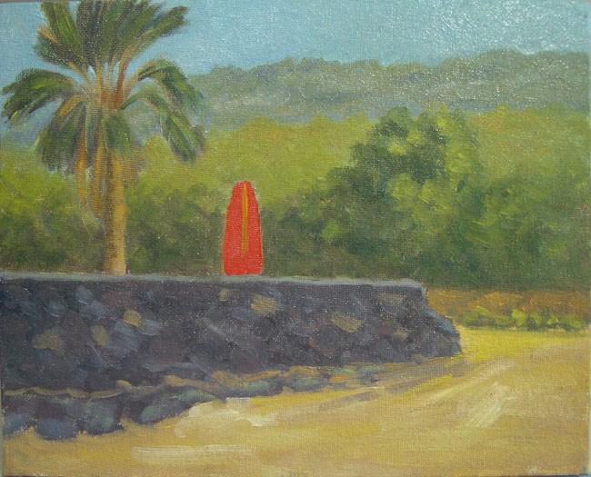 """Waiting for Surf"" original fine art by Stan Chraminski"