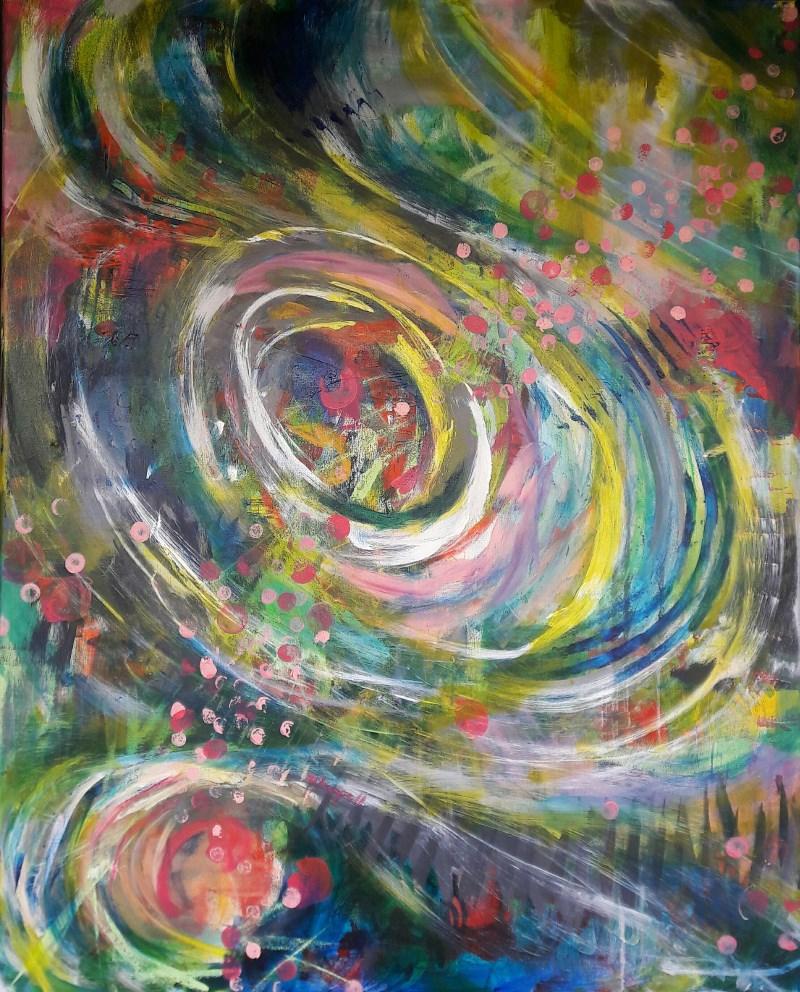 """""""Thinning Veil"""" original fine art by Becky Chappell"""