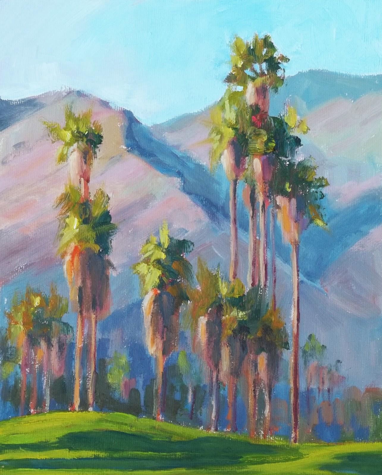 """Trees #1"" original fine art by Deborah Newman"