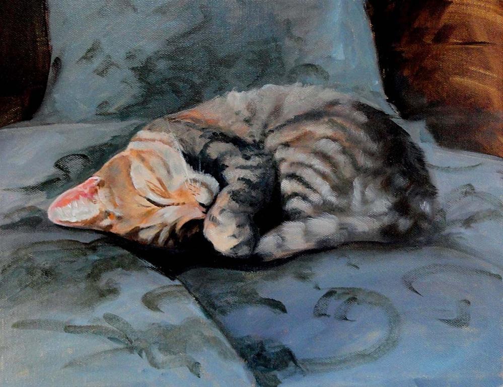"""Sleeping Beauty"" original fine art by Cietha Wilson"