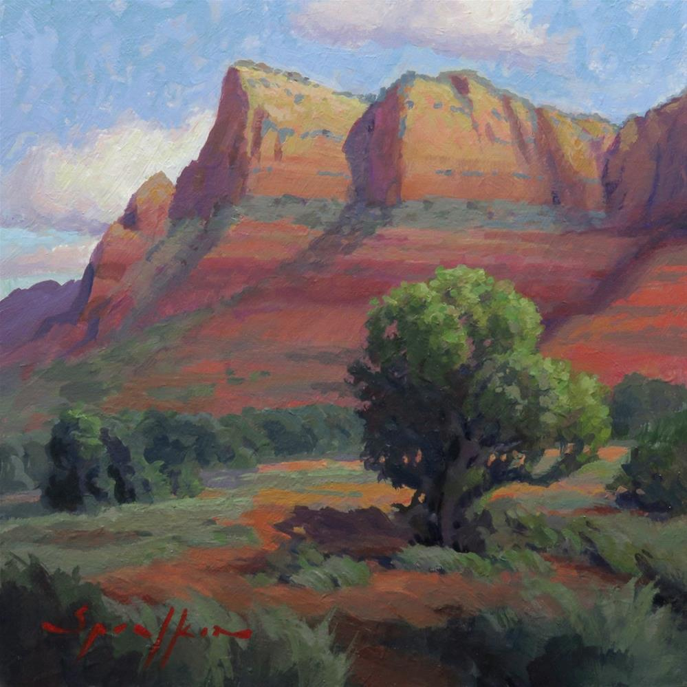 """Sedona Dreaming"" original fine art by Edward Sprafkin"