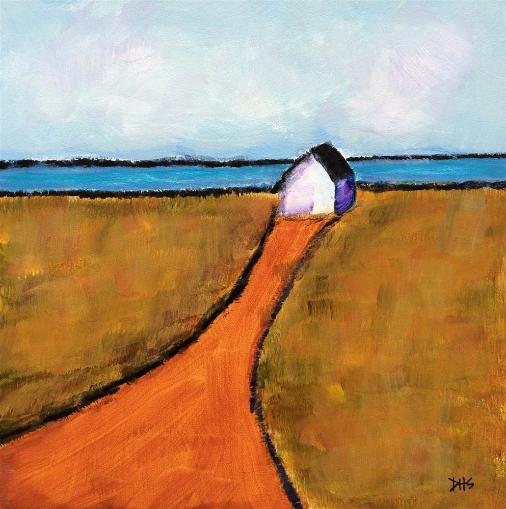 """""""On the Way to Corkum's"""" original fine art by Dotty Seiter"""