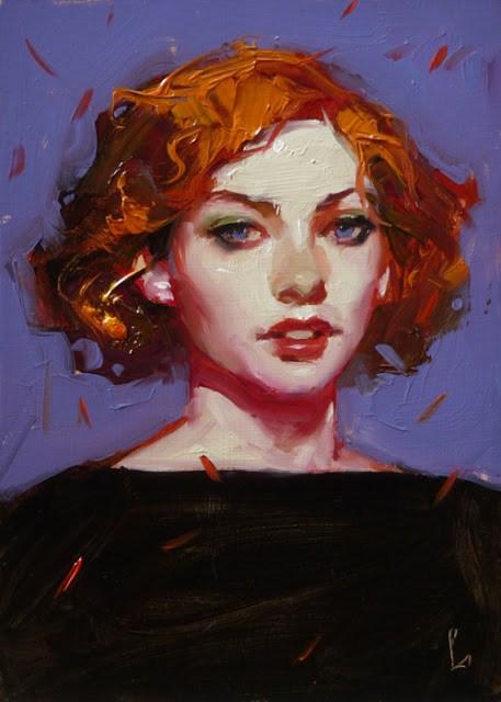 """""""Confetti"""" original fine art by John Larriva"""