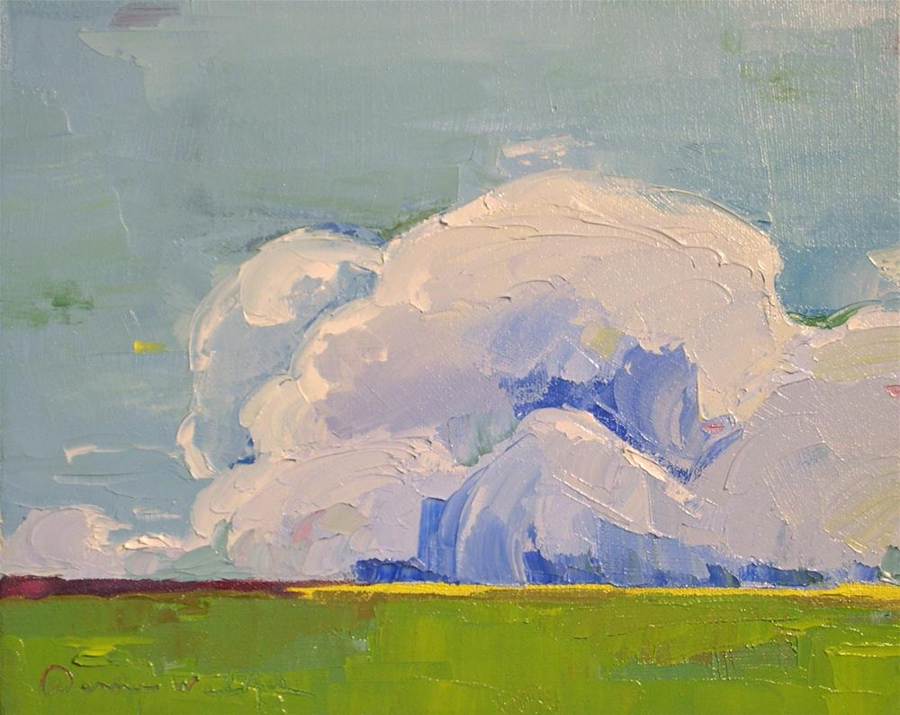 """Monumental Clouds"" original fine art by Donna Walker"