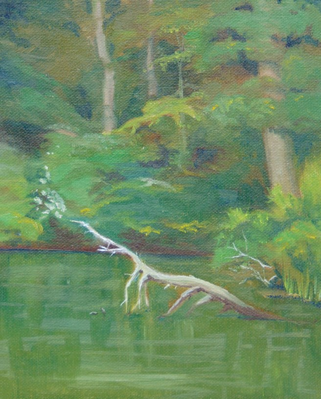 """Betts Mill Creek"" original fine art by Catherine Kauffman"