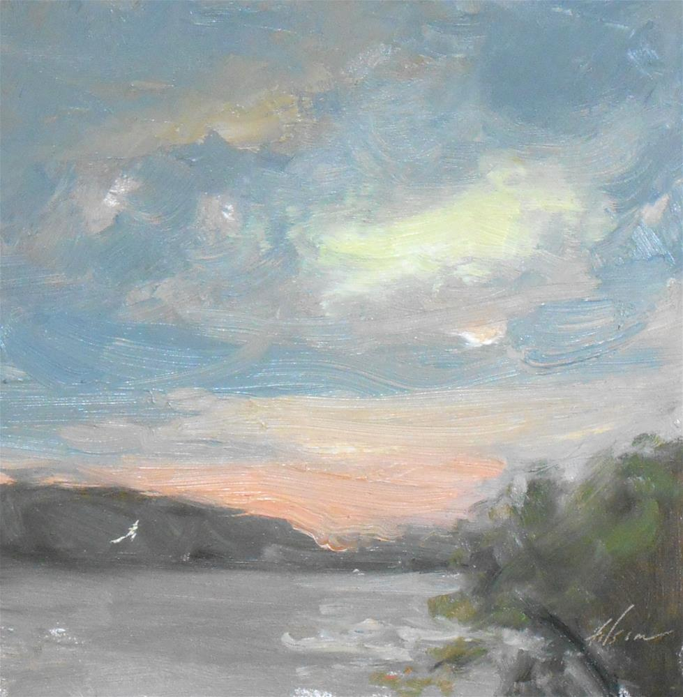 """Peaceful Light"" original fine art by Kelli Folsom"