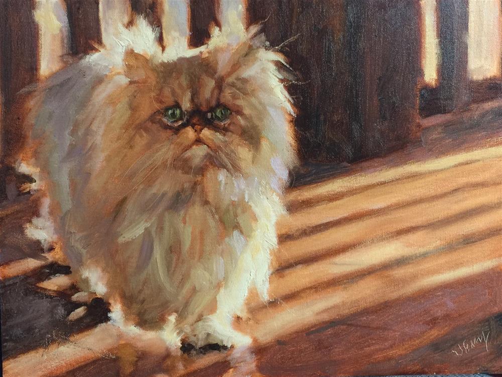"""My Little Sunshine"" original fine art by Jenny Buckner"