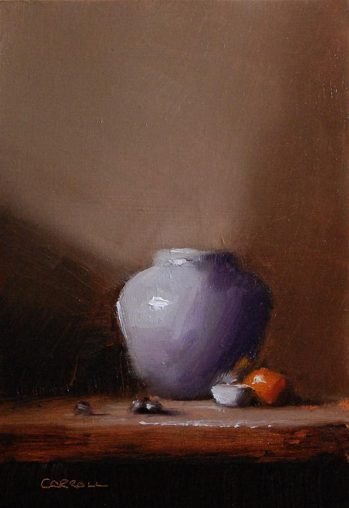 """A Touch of Violet"" original fine art by Neil Carroll"