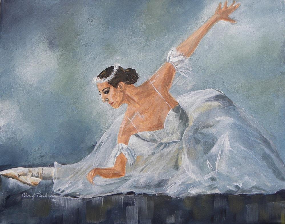 """Ballerina"" original fine art by cheryl buhrman"