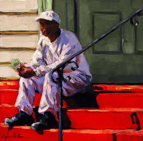 """Painterly"" original fine art by Karin Jurick"