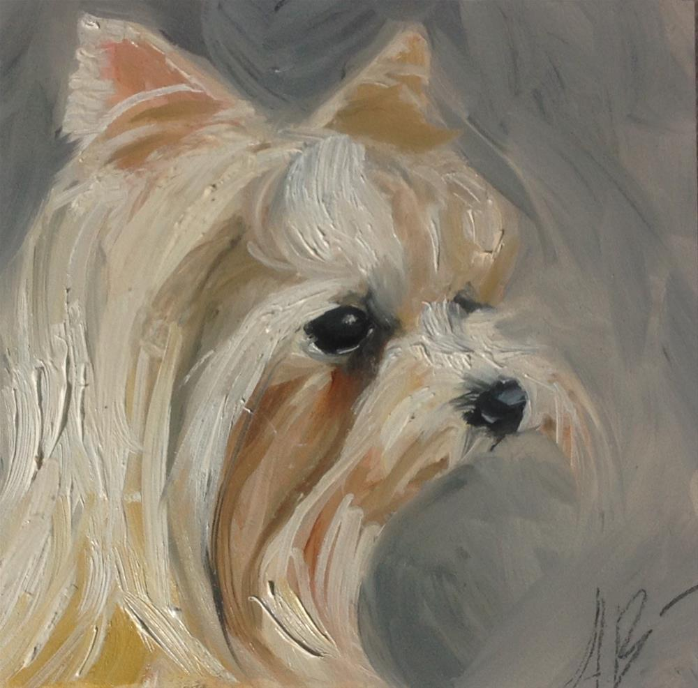 """Portrait of Cali Rose"" original fine art by Annette Balesteri"