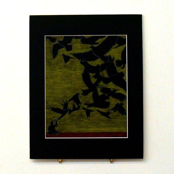 """Qi-yo Ke-pe Study II"" original fine art by Bonnie Fillenwarth"