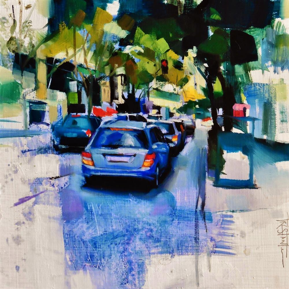 """Urban fragments"" original fine art by Víctor Tristante"