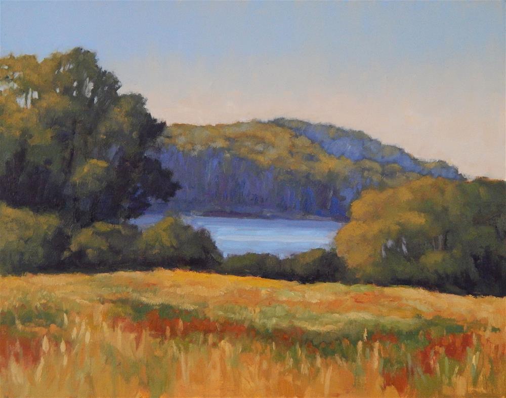 """Maine Meadow"" original fine art by Lisa Kyle"