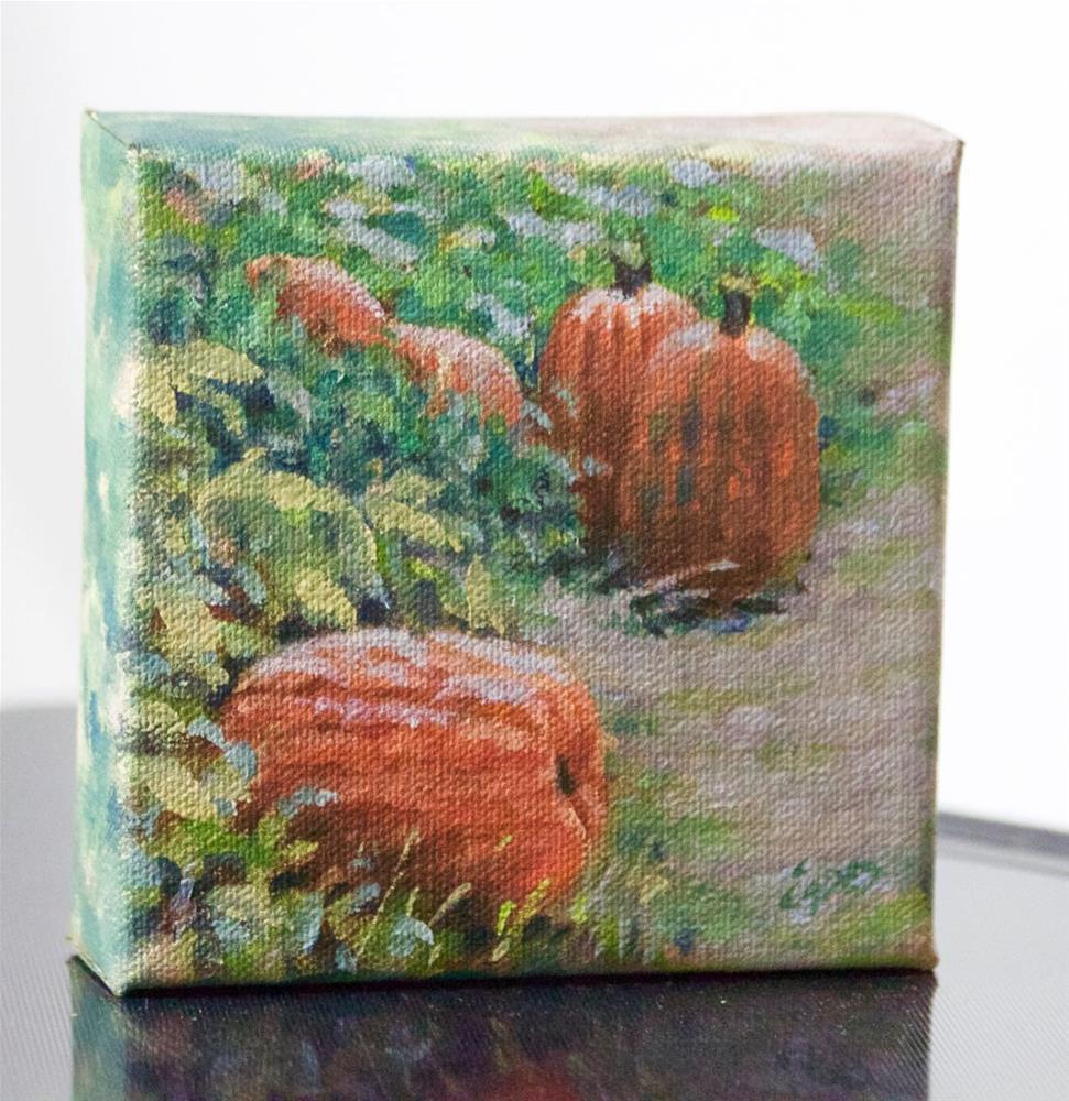 """The Patch"" original fine art by Linda Eades Blackburn"